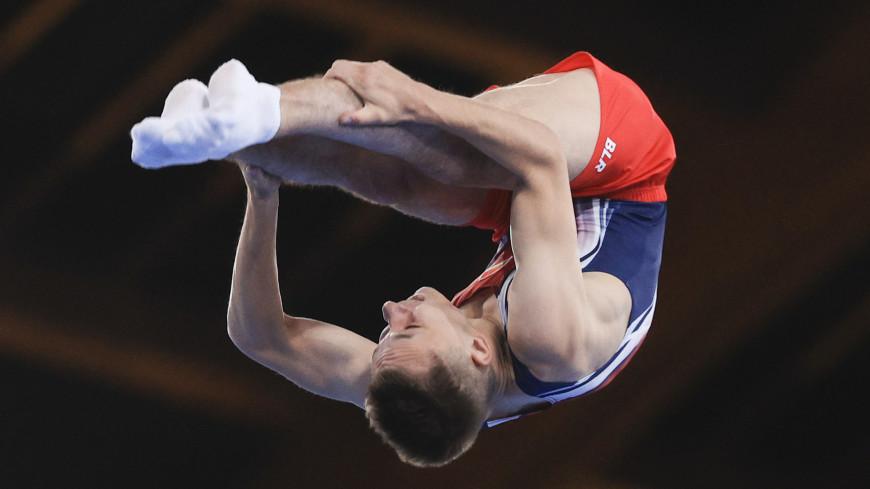 Первое белорусское: Иван Литвинович завоевал золото в прыжках на батуте