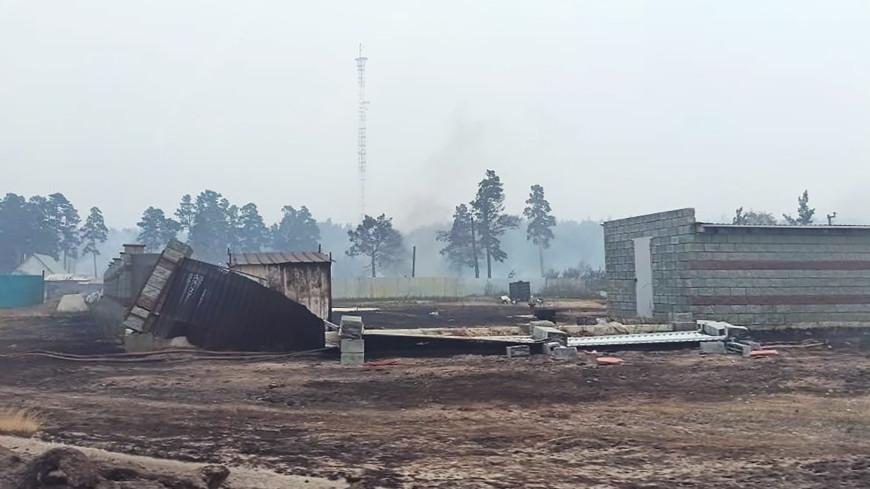 Пламя наступает: из-за лесных пожаров людей эвакуируют из деревень в Челябинской области