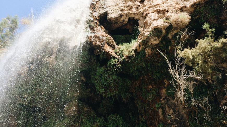 иордания, водопад