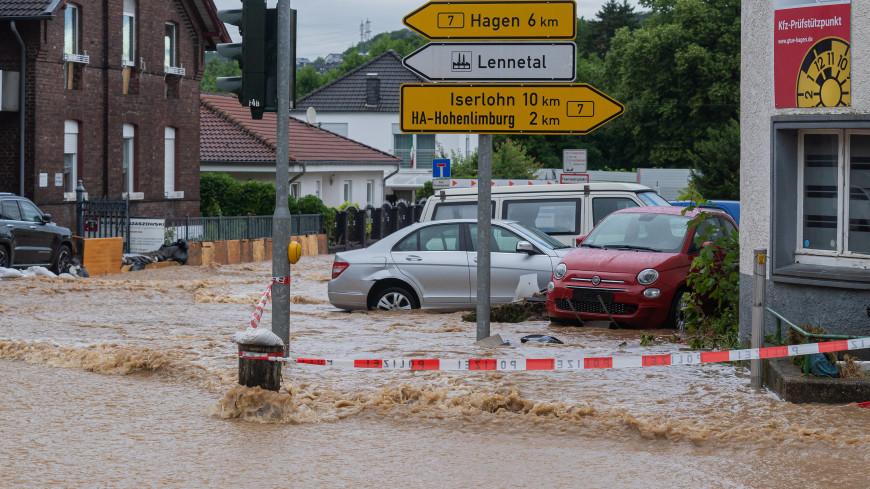 В Германии в результате наводнения погибли 58 человек