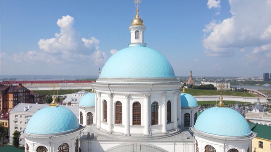 Воссоздание храма: патриарх освятил собор Казанской иконы Божией Матери