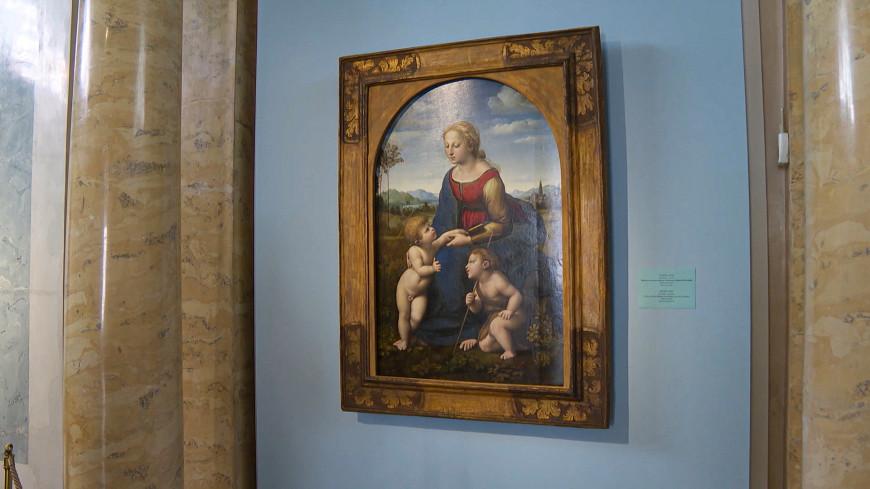 «Мадонну» Рафаэля впервые выставили в Санкт-Петербурге