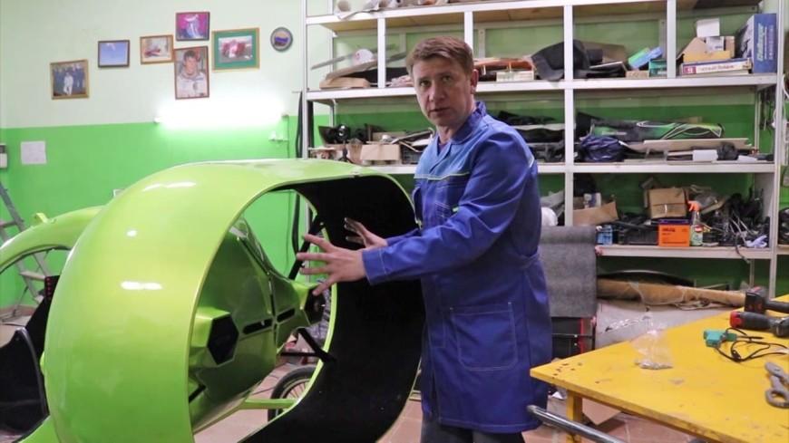 Ставропольский изобретатель подарил «Авиасалону» свой «Бегалет» в честь 15-летия МАКС