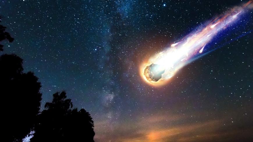 На юге Норвегии в небе заметили падение большого метеорита