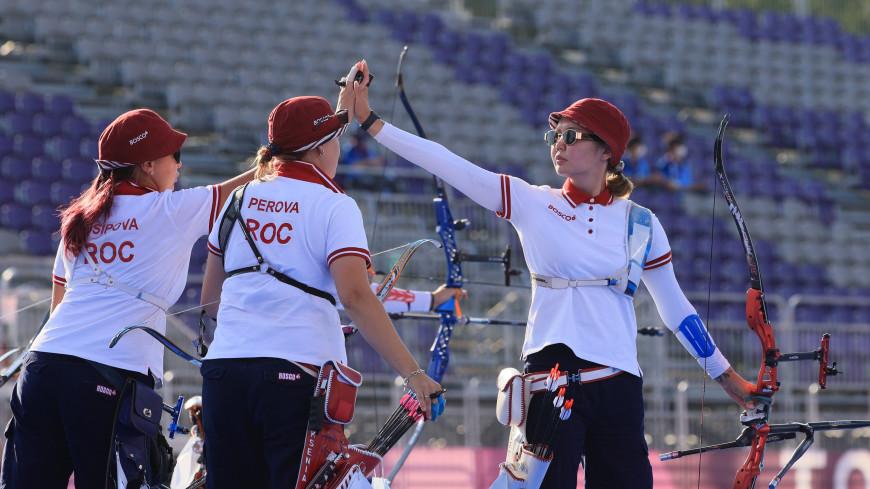 Рссийские лучницы завоевали серебро в командном турнире на Олимпиаде в Токио