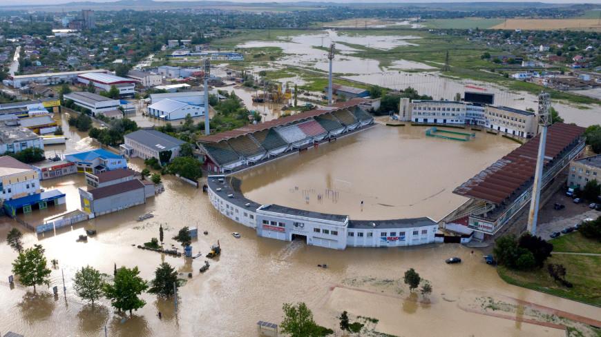 80 домов оказались подтопленными в Славянском районе Кубани