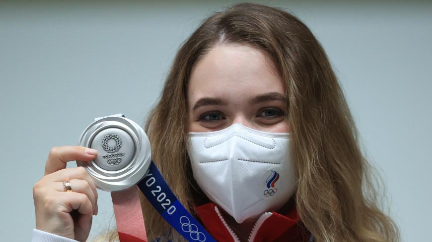 Первая медаль в Токио: россиянка Анастасия Галашина взяла серебро в стрельбе с 10 метров