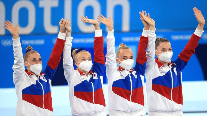Россиянки впервые выиграли командные соревнования по спортивной гимнастике на Олимпийских играх