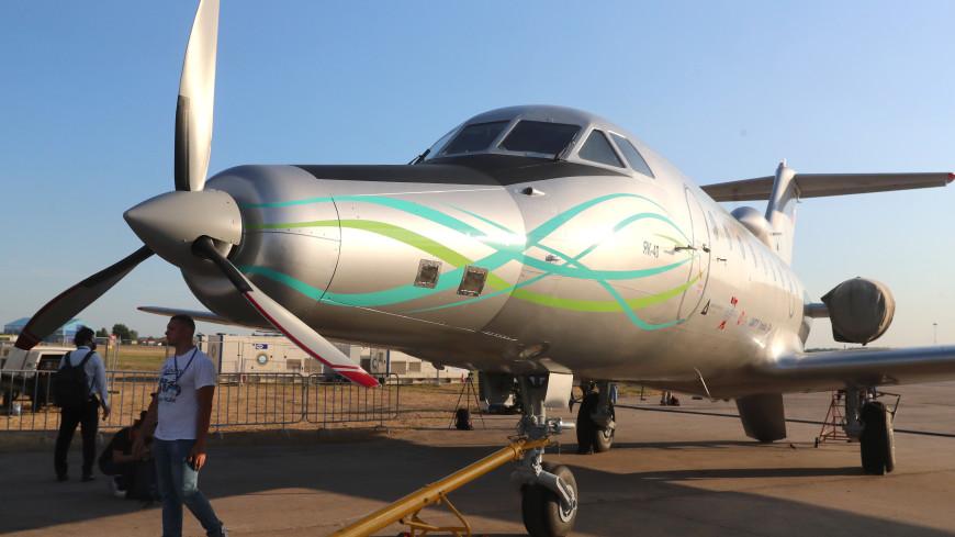 Оснащенный электродвигателем российский самолет совершил первый полет