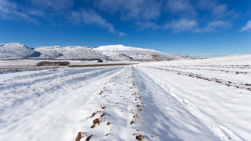 Рекордные морозы и снег пришли на юг Африки