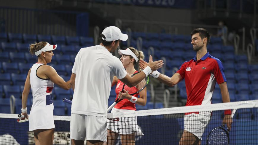 Золото и серебро: в финале теннисного микста на Олимпиаде сыграют две российские пары
