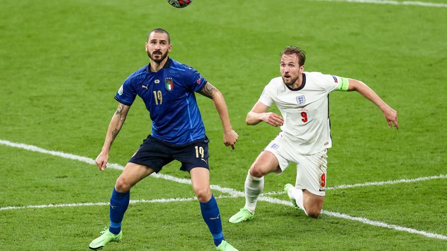 Сборная Италии одержала победу на чемпионате Европы по футболу
