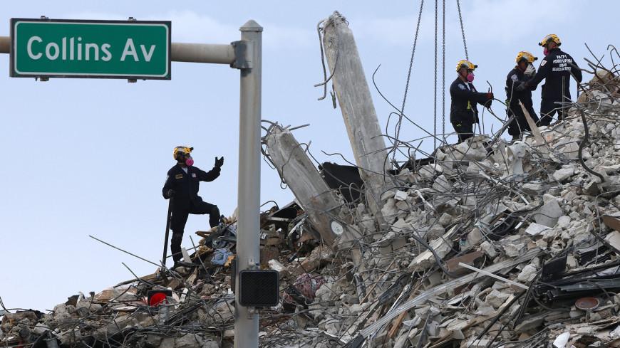 Число погибших при обрушении дома во Флориде достигло 28