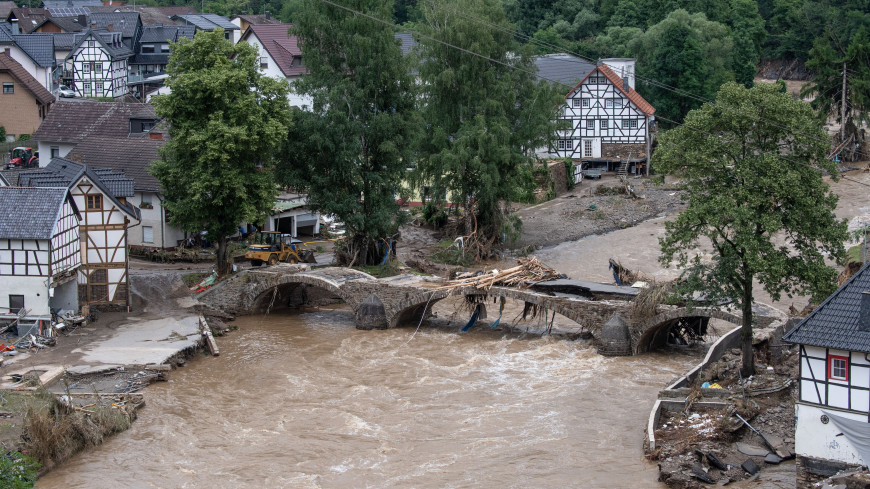 Европу смывает: ливни затопили Германию и Бельгию