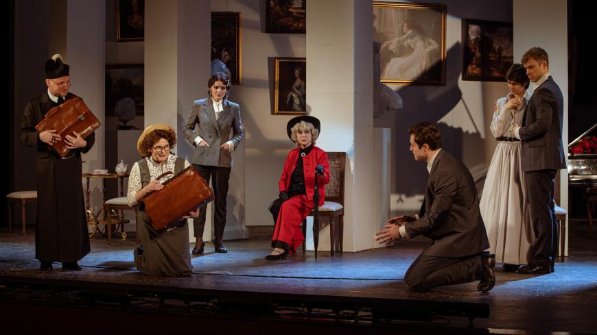 «В важных вопросах главное не истина, а стиль»: в театре Маяковского премьера спектакля «Как важно быть серьезным»