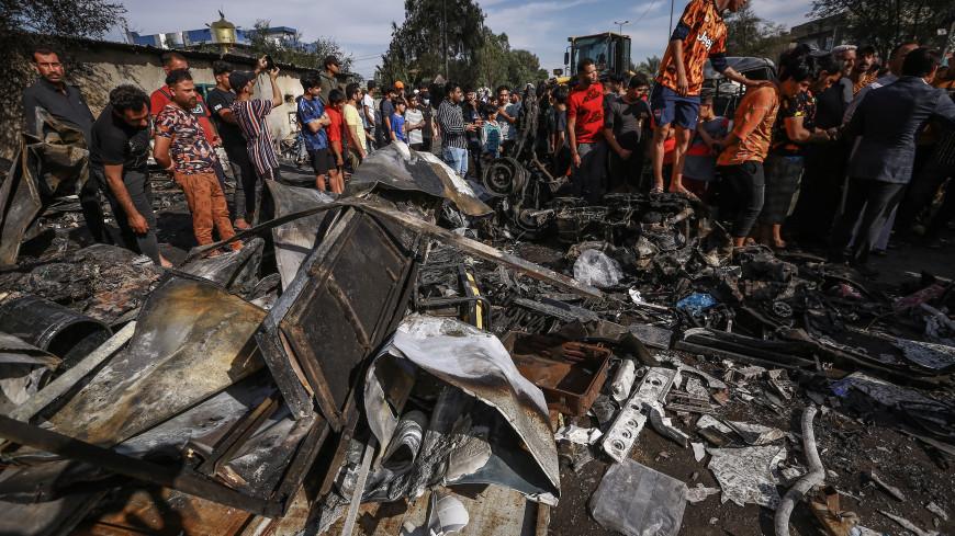 25 человек погибли в результате теракта в Багдаде