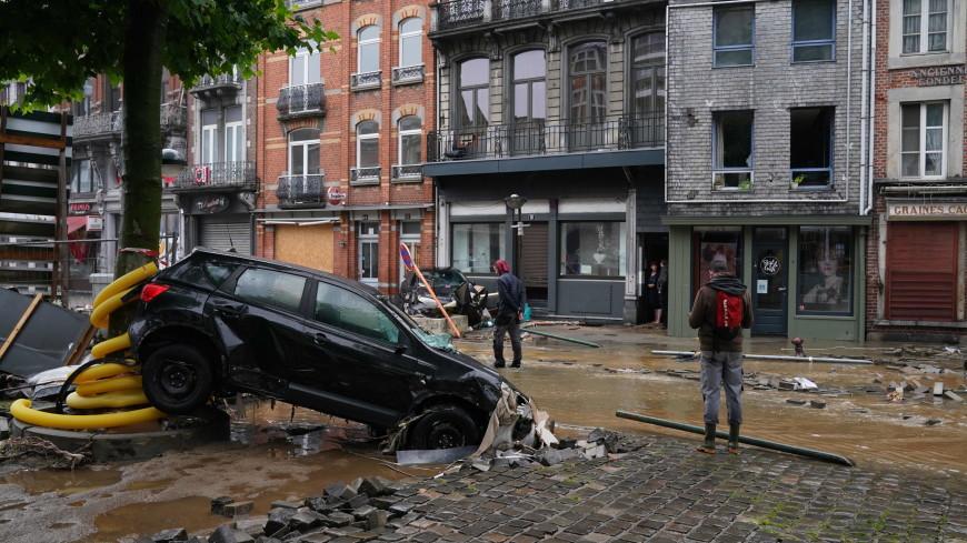 Путин выразил соболезнования королю Бельгии в связи с последствиями наводнения