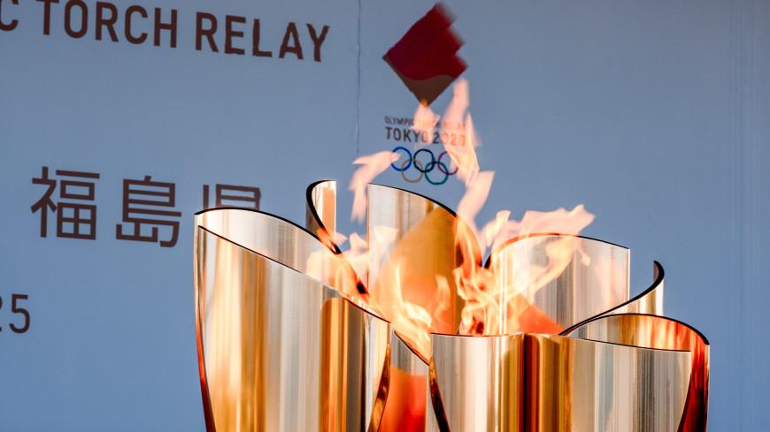 Олимпийский огонь привезли в Токио