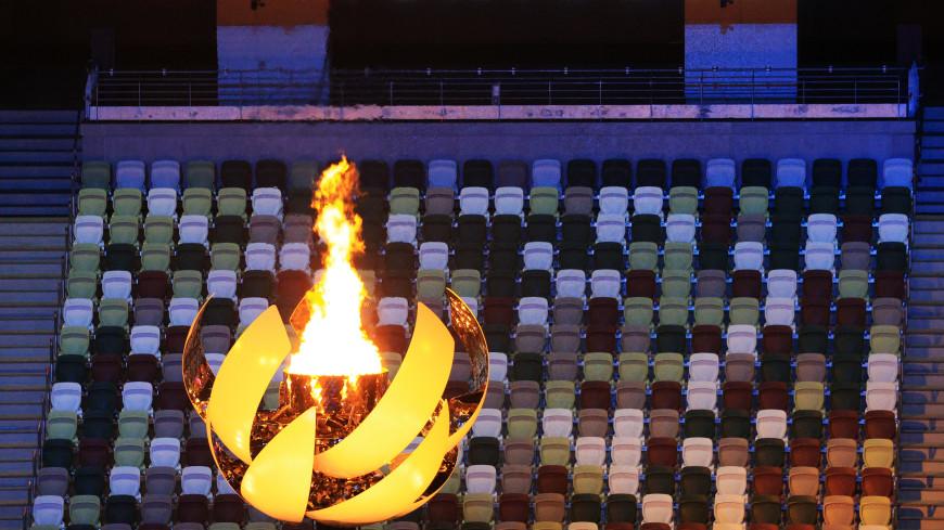 Теннисистка Наоми Осака зажгла огонь XXXII летних Олимпийских игр в Токио