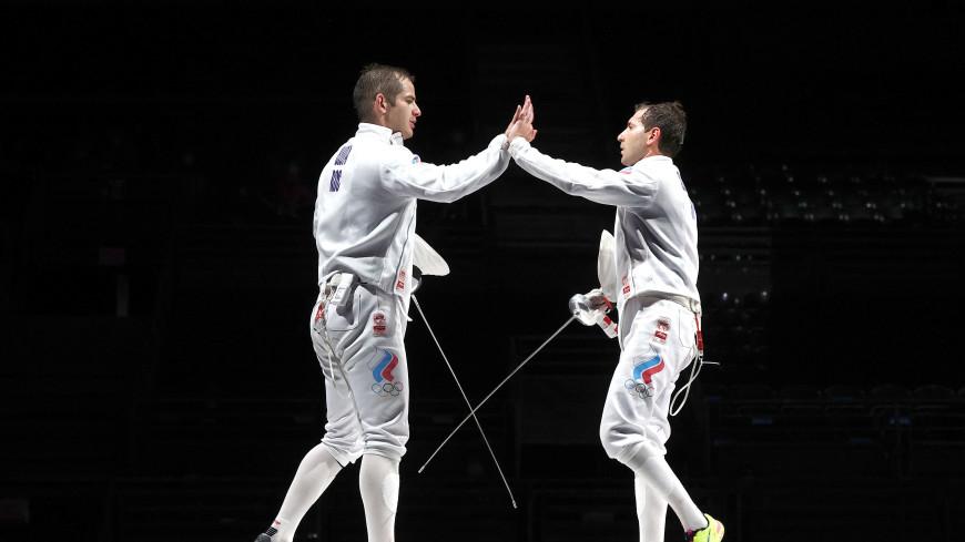 Российские шпажисты взяли серебро в командном турнире на ОИ-2020 в Токио