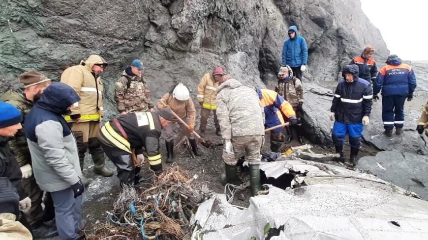 Еще четыре тела найдены на месте крушения АН-26 на Камчатке