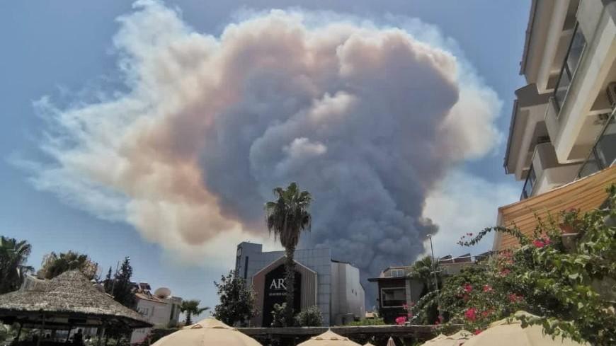Четыре человека стали жертвами лесных пожаров в Турции