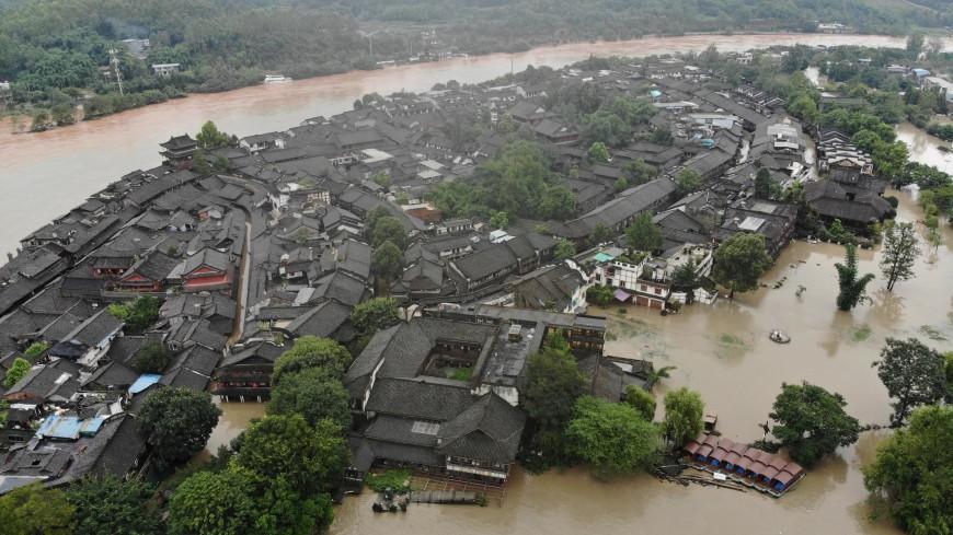 До 63 человек выросло число погибших от наводнения в Китае