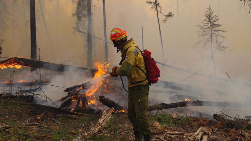 Якутия в огне: в республике горят более миллиона 300 тысяч гектаров леса