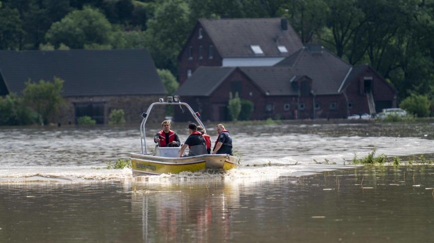 Наводнение в Европе: в Германии без вести пропали 1300 человек