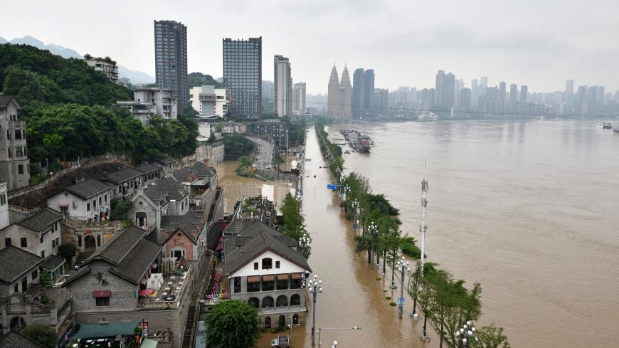 Наводнение тысячелетия в Китае: стихия унесла больше полсотни жизней
