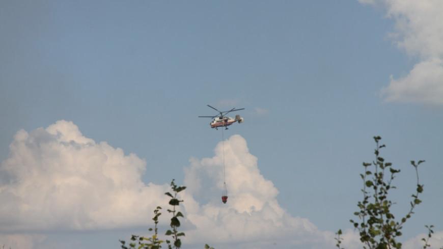 Природные пожары в Карелии: авиация сбросила на горящие участки 30 тонн воды