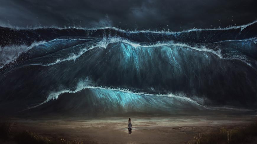 В США нашли следы гигантского цунами от падения астероида