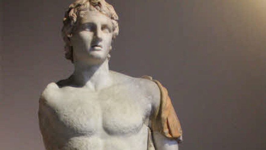 В Греции нашли гробницу матери Александра Македонского