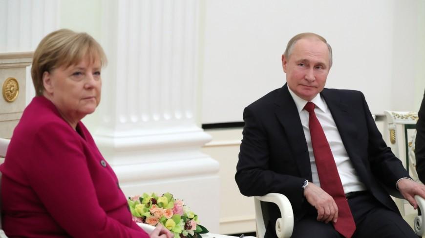 Путин и Меркель обсудили наводнение в Германии, Украину и «Северный поток-2»