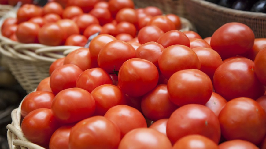 """© Фото: Максим Кулачков / """"«МИР 24»"""":http://mir24.tv/, помидоры, рынок, торговля"""