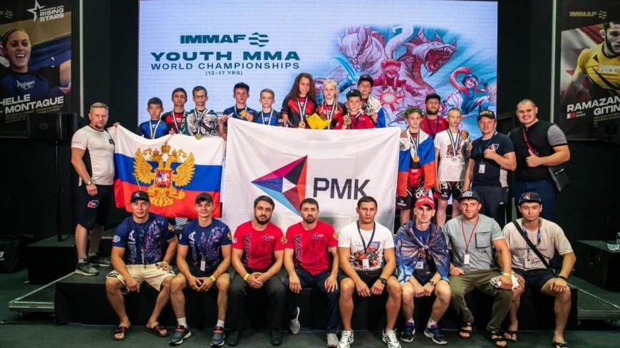 Сборная России завоевала 14 медалей в первый день молодежного чемпионата мира по ММА