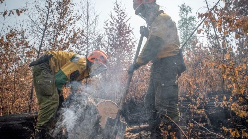 В Якутии вызвали искусственный дождь, чтобы потушить горящие леса