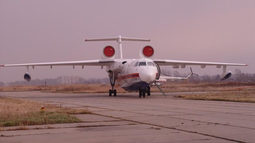 В Якутию для тушения пожаров дополнительно отправят два самолета-амфибии