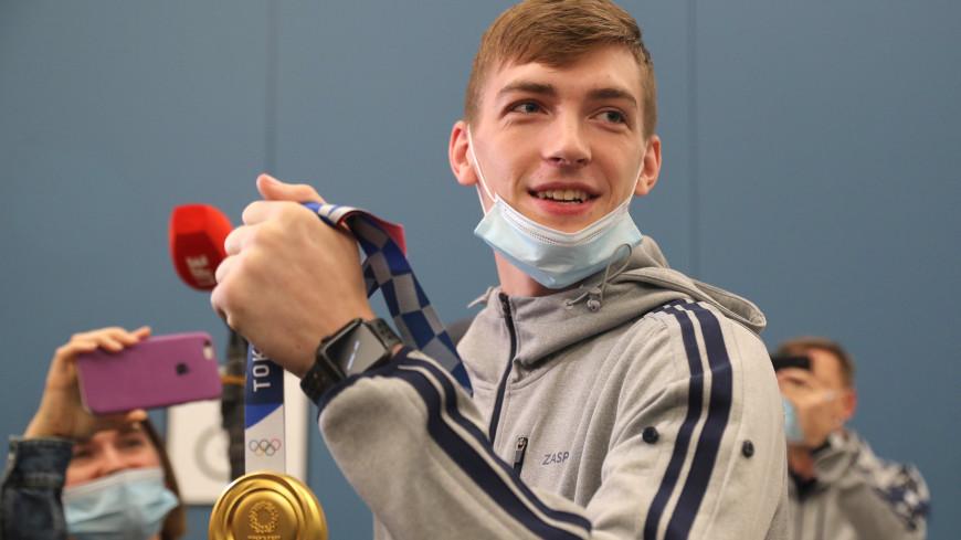 Первый в истории: олимпийский чемпион Максим Храмцов вернулся домой