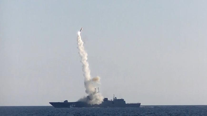 Российский корабль провел успешную стрельбу гиперзвуковой ракетой «Циркон»