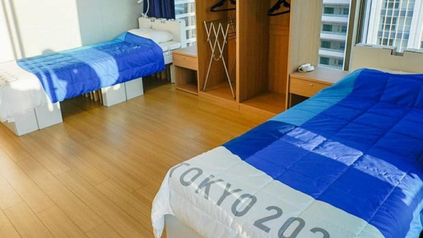 Для олимпийцев в Токио установили антисекс-кровати