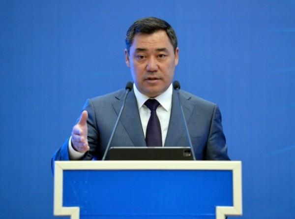 Жапаров: Государство сократит вмешательство в экономику Кыргызстана