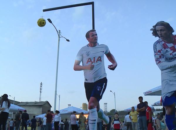 Фестиваль футбола: в Таджикистане масштабно отметили начало чемпионата Европы