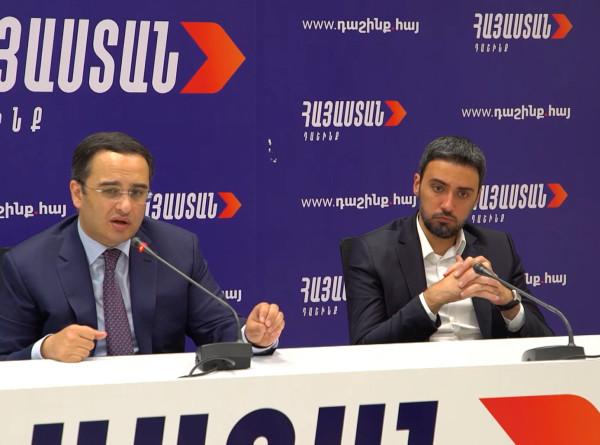 Блок Кочаряна «Армения» подвел итоги агитационной кампании