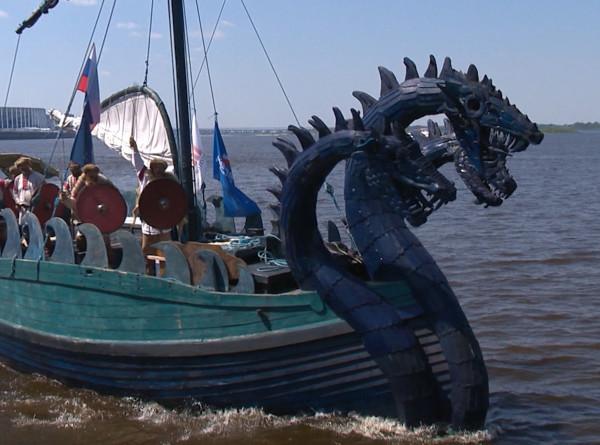 По следам Рюрика: яхта «Змей Горыныч» прибыла в Нижний Новгород