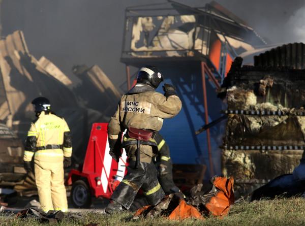 Открытое горение на АГЗС в Новосибирске ликвидировано