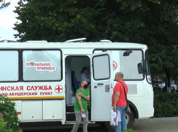 Укол на пляже: в Самаре делают прививки на набережной Волги