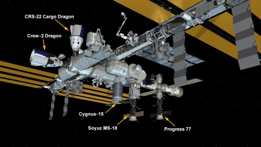 Американский корабль Dragon состыковался с МКС