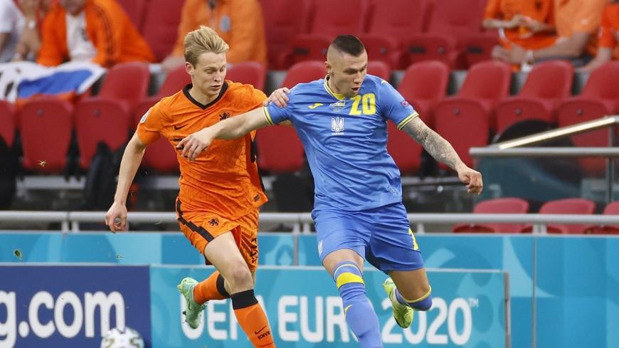 Украина впервые вышла в плей-офф чемпионата Европы по футболу