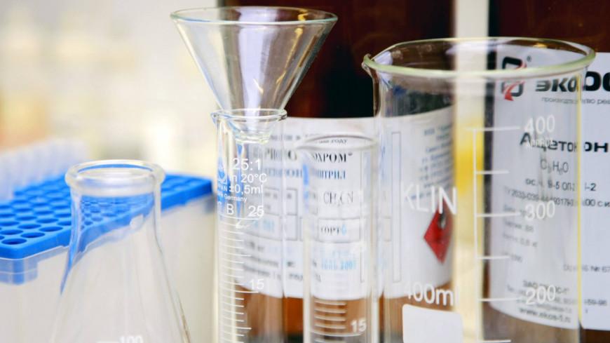 """Фото: Марина Грекова (МТРК «Мир») """"«Мир 24»"""":http://mir24.tv/, химия, наука, ученый, лаборатория, колба, ученые, медицина"""